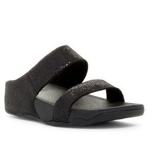 FitFlop Lulu Superglitz Slide Sandal